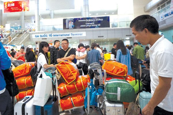 More Chinese travelers visiting Vietnam via chartered flights